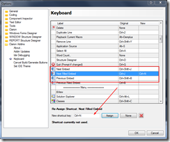 KeyboardShortcuts addin!